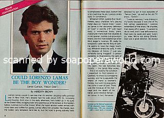 Interview with Lorenzo Lamas (Lance Cumson on Falcon Crest)