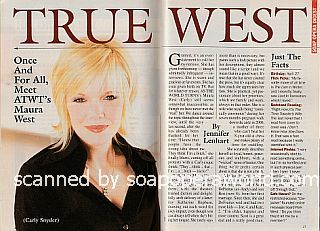 Interview with Maura West (Carly on the CBS soap opera, As The World Turns)