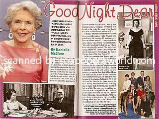 Tribute to Helen Wagner (Nancy Hughes, ATWT)