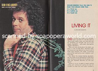 Living It by fitness guru, Richard Simmons