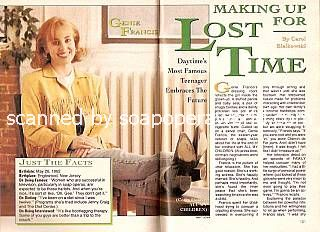 interview with Genie Francis (Ceara Hunter on All My Children)