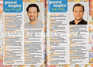 Alphabet Scoop with General Hospital co-stars Roger Howarth and Billy Miller (Franco and Jason)
