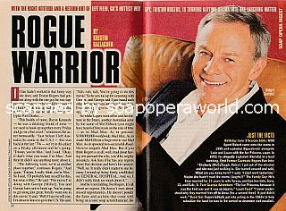 Interview with Tristan Rogers (Robert Scorpio on the ABC soap opera, General Hospital)