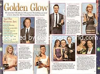 Golden Glow (Coverage of the 38th Annual Daytime Emmy Awards)