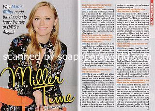 Interview with Marci Miller (Abigail on Days Of Our Lives)