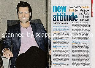 Interview with Freddie Smith (Sonny Kiriakis on Days Of Our Lives)