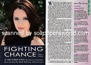Interview with Marnie Schulenburg (ex-Allison, As The World Turns)