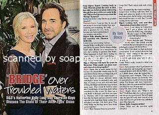 Interview with Katherine Kelly Lang and Thorsten Kaye (Brooke and Ridge on B&B)