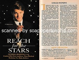 Interview with Gerald Hopkins (A.J. Quartermaine on General Hospital)