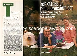 Interview with Doug Davidson (Paul Williams on The Young & The Restless)