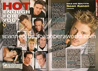 Hot Enough For You?  Sexiest Men on Soaps