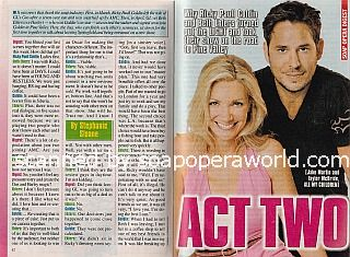 Interview with Beth Ehlers and Ricky Paull Goldin (Taylor and Jake on All My Children)