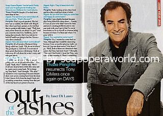 Interview with Thaao Penghlis (Tony DiMera on Days Of Our Lives)