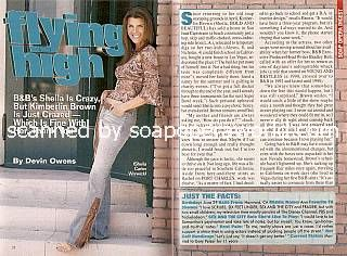 Interview with Kimberlin Brown (Sheila on The Bold & The Beautiful)