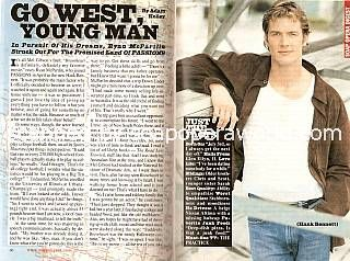 Interview with Ryan McPartlin (Hank Bennett on Passions)