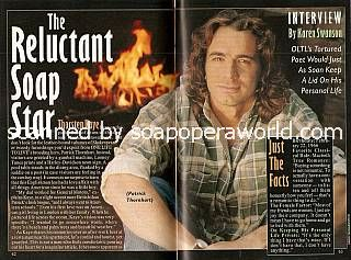 Interview with Thorsten Kaye (Patrick Thornhart on One Life To Live)