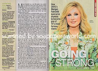 Interview with Morgan Fairchild (Anjelica Deveraux on Days Of Our Lives)