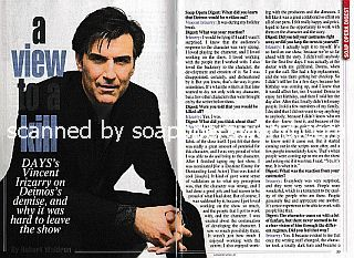 Interview with Vincent Irizarry (ex-Deimos on Days Of Our Lives)