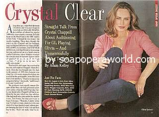 Crystal Chappell (Olivia, GL)