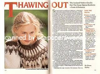 Interview with Maria Ellingsen (Katrina Braun on Santa Barbara)