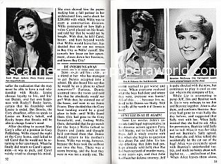 Synopses Section featuring Eric Roberts and Beverlee McKinsey