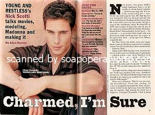 Interview with Nick Scotti (Tony on The Young & The Restless)