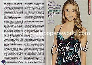 Exit Interview with Chloe Lanier (Nelle on General Hospital)