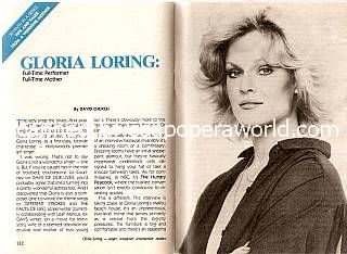 Interview with Gloria Loring (Liz Courtney on Days Of Our Lives)
