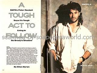 Interview with Peter Reckell (Bo Brady on Days Of Our Lives)