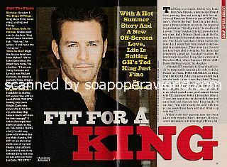 Interview with Ted King (Lorenzo Alcazar on the ABC soap opera, General Hospital)