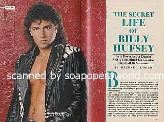 Interview with Billy Hufsey (Emilio on Days Of Our Lives)