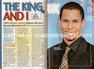 Bryton James (Devon Hamilton, Y&R)