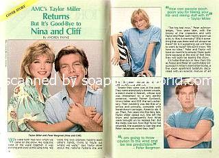 Peter Bergman & Taylor Miller (Cliff & Nina, AMC)
