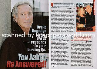 Interview with Drake Hogestyn (John on Days Of Our Lives)
