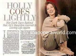 Interview with Maureen Garrett (Holly on Guiding Light)