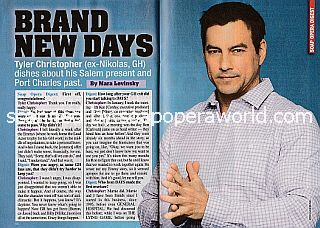 Interview with Tyler Christopher of Days Of Our Lives