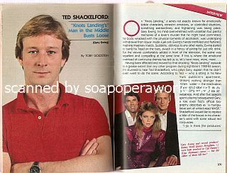 Interview with Ted Shackelford (Gary Ewing on Knots Landing)