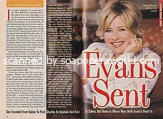 Interview with Mary Beth Evans (Kayla on Days Of Our Lives)