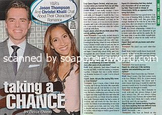 Interview with Jason Thompson & Christel Khalil of Y&R