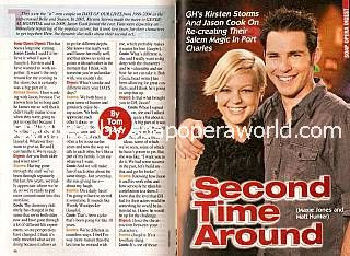 Interview with Kirsten Storms & Jason Cook (Maxie & Matt, GH)