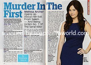 Interview with Melissa Archer (Serena on Days Of Our Lives)