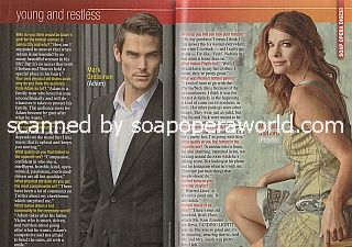 Soaps' Hottest Stars featuring Mark Grossman and Michelle Stafford of Y&R