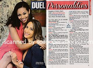 Interview with Mishael Morgan and Christel Khalil (Hilary and Lily on The Young and The Restless)