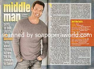 Interview with Eric Martsolf (Brady on Days Of Our Lives)