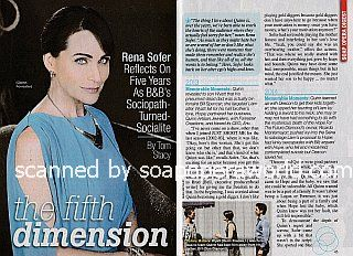 Interview with Rena Sofer (Quinn on The Bold and The Beautiful)