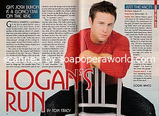 Interview with Josh Duhon (Logan on the ABC soap opera, General Hospital)