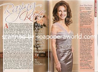 Interview with Susan Lucci (Susan played the role of Erica Kane on All My Children)