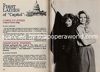 Interview with Capitol co-stars Carolyn Jones and Constance Towers (Myrna and Clarissa on the soap opera, Capitol)