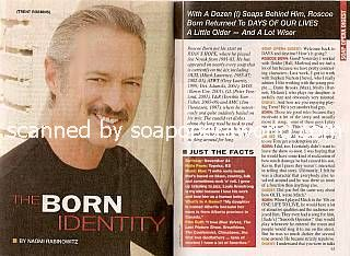 Interview with Roscoe Born (Trent on Days Of Our Lives)