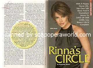 Lisa Rinna (Billie Reed, DAYS)